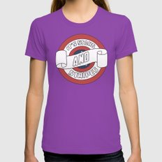 Pride Womens Fitted Tee Ultraviolet SMALL