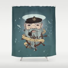 Sea wolf 2 Shower Curtain