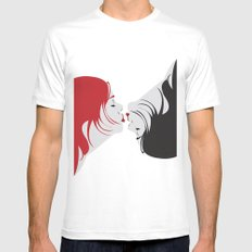 we are one White SMALL Mens Fitted Tee