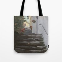 Italian Street And Stair… Tote Bag
