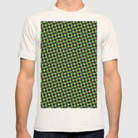 COLORFUL DOT Mens Fitted Tee Natural SMALL