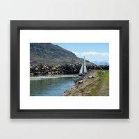 Come Sail Away Framed Art Print