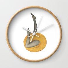 Pineapple Lady Wall Clock