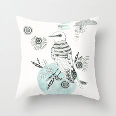 Blue King Throw Pillow