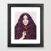 Yoko Ono Framed Art Print
