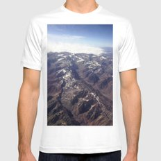 Beyond Andes White Mens Fitted Tee SMALL