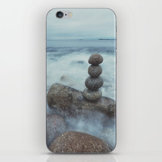 Zen Stones iPhone & iPod Skin