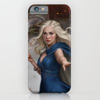 iPhone Cases featuring I will rule by Fernanda Suarez
