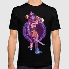 Street Warriors - Gladiator MEDIUM Mens Fitted Tee Black