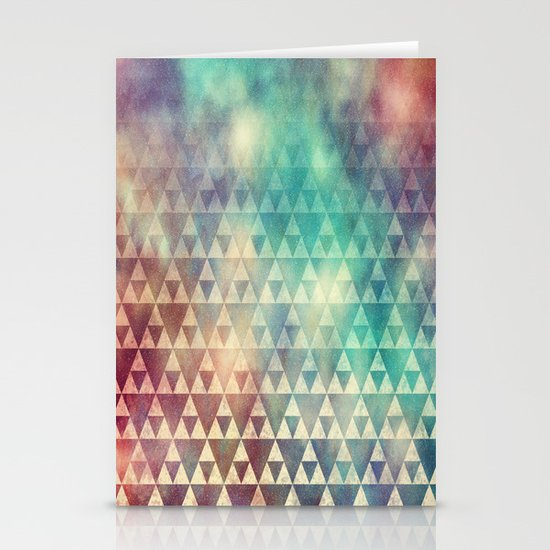 Tribal Fade Stationery Card