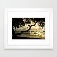 Hawaii-Hope Framed Art Print