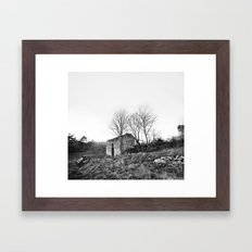 Abandonnée Framed Art Print