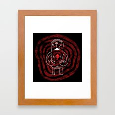 The Lonely Cyclops of Skull Isle Framed Art Print