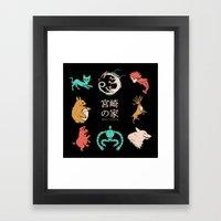 House of Miyazaki Framed Art Print