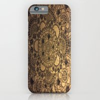 Mandala in Gold iPhone 6 Slim Case