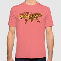 Indiana Hell & The Voidoids Mens Fitted Tee Pomegranate SMALL