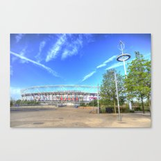 West Ham Olympic Stadium London Canvas Print