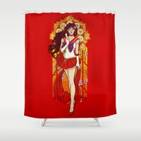 Spirit of Fire - Sailor Mars nouveau Shower Curtain