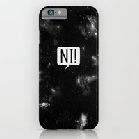 iPhone Cases featuring The Night Who Says Ni by Zach Terrell