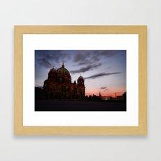 Berlin, Museum Island Framed Art Print