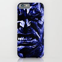 iPhone & iPod Case featuring Feeling Blue by D77 The DigArtisT