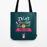 IF I STAY: I'll Let You Go Tote Bag