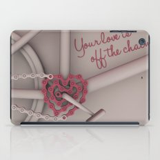 Your love is off the chain iPad Case