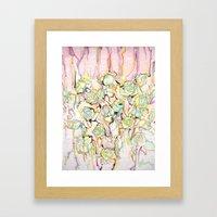 War Of Roses Framed Art Print