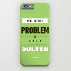 Well defined problem iPhone 6s Slim Case