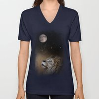 Under The Moon And Stars Unisex V-Neck