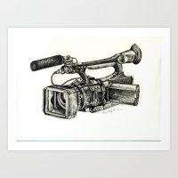 Sony HVR-V1U Art Print