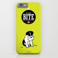 iPhone & iPod Case featuring BITE:I love ham by Luna Ng