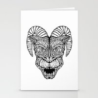 Gargoyled Stationery Cards