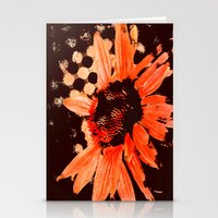 Bloom In Red Stationery Cards