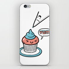 Friends Go Better Together 5/7 - Cupcake and Icing iPhone & iPod Skin