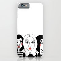 iPhone & iPod Case featuring It Girls by shecanliftahorse