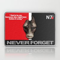 NEVER FORGET - Mordin So… Laptop & iPad Skin