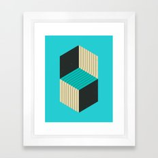 CUBES (7) Framed Art Print