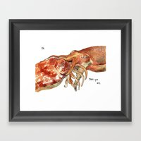 Oh!  There You Are Framed Art Print