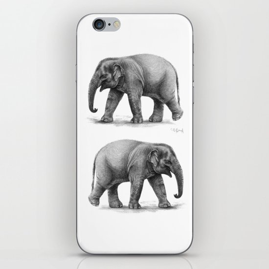Elephant Baby G092 iPhone & iPod Skin