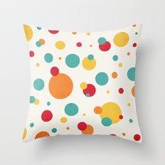 I'm Just A Bit Dotty! Throw Pillow