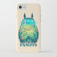 moon iPhone & iPod Cases featuring He Is My Neighbor by Victor Vercesi