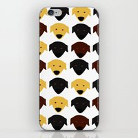 Labrador Dog Pattern iPhone & iPod Skin