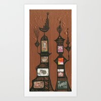 I Love You, Hundertwasse… Art Print