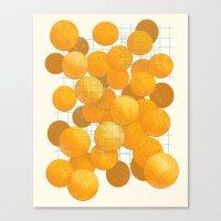 Canvas Print featuring Laser Malfunction. by Matt Leyen