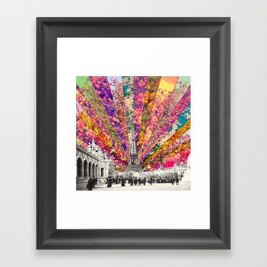 Vintage Paris Framed Art Print By Bianca Green Society6