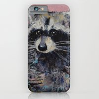 iPhone & iPod Case featuring Raccoon by Michael Creese