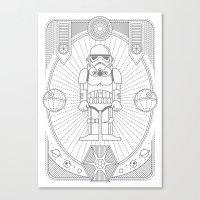 Stormtrooper Jam Canvas Print