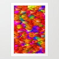 Blown Away Art Print