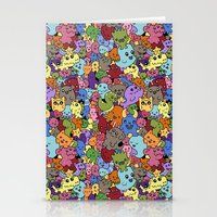 Doodle Mix 1 Stationery Cards